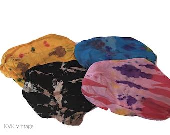 Multicolor Batik Headbands - Bohemian Headbands - Fair Trade Headbands - BOHO Headwraps