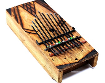 Kalimba Piano, Finger Piano, Musical Instruments, Fair Trade, Wooden Piano, African Thumb Piano