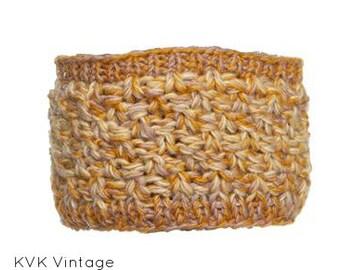 Fall Mix Wool Headband - Knit Headbands - Hand Knit Headband - Fair Trade