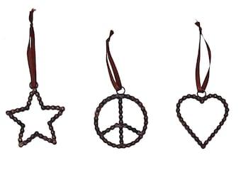 Bike Chain Ornament Set - Home Décor - Ornaments - Fair Trade