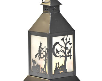 Spooky Halloween Lantern - Halloween Décor - Halloween Light - Candleholders - Fair Trade