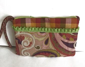 Paisley Crossbody Bag - Sling Bags - Vintage Fabric Bags