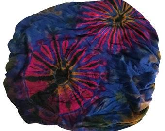 Blue Thai Tie Dye Headwrap - Bohemian Headband - Fair Trade Headband - BOHO Headwrap