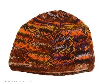 Colorful Wool Knit Cap - Knitted Hats - Wool Beanies - Fair Trade
