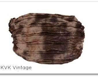 Brown Tie-Dye Headband - BOHO Headband - Hippie Headband - Wide Headband - Hair - Accessories