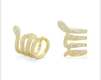 Sterling Ear Cuffs