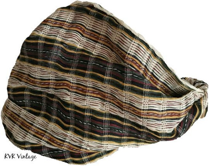 Featured listing image: Light Mixed Stripe Guatemalan Headband - Bohemian Headband - Fair Trade Headband - BOHO Headwrap
