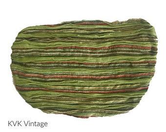 Green Striped Headband- Boho Headband - Bohemian Headband - Headbands for Women - Hippie Headband