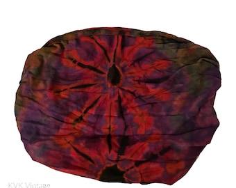 Purple Tie Dye Thai Headwrap - Boho Headband - Bohemian Headband - Headbands for Women - Hippie Headband