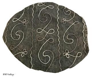 Black Swirl Headband - Boho Headband - Bohemian Headband - Headbands for Women - Hippie Headband