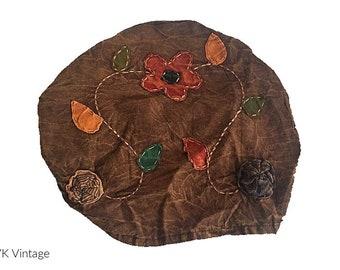 Brown Floral Headband - Boho Headband - Bohemian Headband - Headbands for Women - Hippie Headband