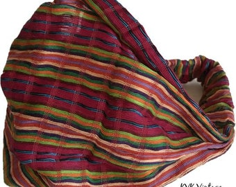 Guatemalan Multi Color Striped Headband #4 - Boho Headband - Bohemian Headband - Headbands for Women - Hippie Headband