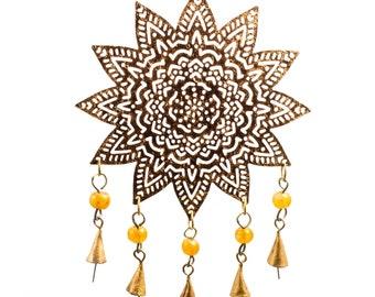 Mystical Mandala Chime - Wind Chimes - Garden Decoration - Fair Trade