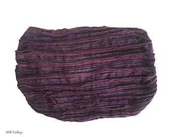 Purple Striped Headband - Boho Headband - Bohemian Headband - Headbands for Women - Hippie Headband