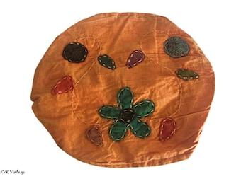 Orange Floral Headband - Boho Headband - Bohemian Headband - Headbands for Women - Hippie Headband