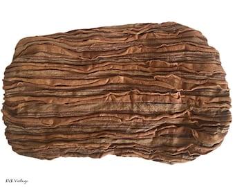 Light Brown Striped Headband - Boho Headband – Headbands for Women – Hippie Headband – Head Wrap – Hair Scarf