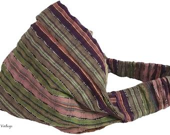 Guatemalan Striped Headband #2 - Boho Headband – Headbands for Women – Hippie Headband – Head Wrap – Hair Scarf