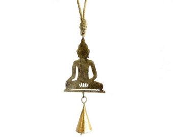 Small Buddha Chime - Wind Chimes - Garden Decoration - Fair Trade