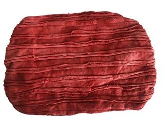 Red Tie Dye Headband - Boho Headband - Bohemian Headband - Headbands for Women - Hippie Headband