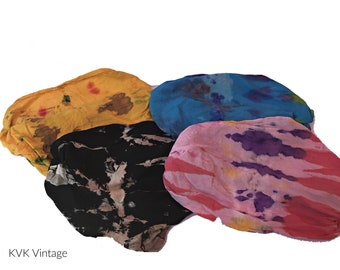 Multicolor Batik Headband - Boho Headband - Bohemian Headband - Headbands for Women - Hippie Headband