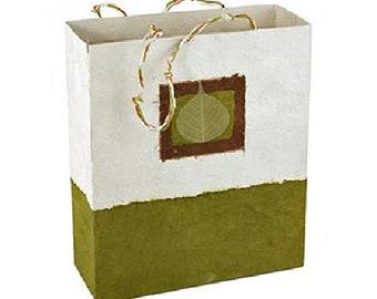 Bodi Leaf Gift Bag - Autumn Gift Bag - Reusable Bag - Gift Wrap - Eco Friendly Bag