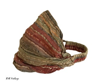 Mixed Stripe Headband - Boho Headband – Headbands for Women – Hippie Headband – Head Wrap – Hair Scarf