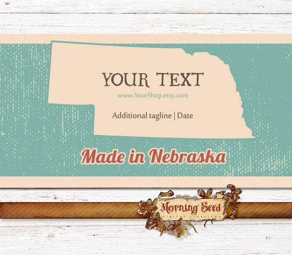 Soap Packaging Made In Nebraska 2 X 115 Inch Printable