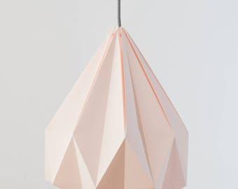 Lámpara de origami. Lámpara de papel. Lámpara de diseño nórdico. Lámpara de  diseño escandinavo. Modelo Luscofusco a534002ec242