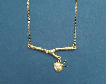 Ladybug Necklace,Ladybug Jewlery,Ladybug,Lady Bug Necklace,Ladybird Necklace,Branch Necklace,Leaf Necklace,Summer Jewlery,Woodland Jewlery