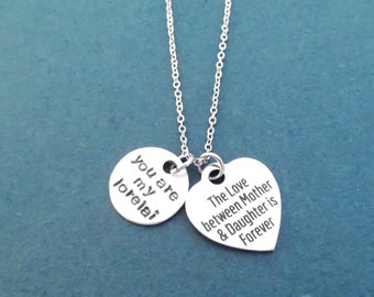 You are my lorelai necklace, The Love between Mother & Daughter is Forever necklace, Gift for mom, Gift for daughter, Gift for nurse