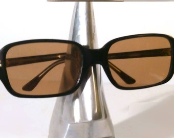 d2aecbae23a9 1950s - 60s French UV Filter Children's Kids Sunglasses. Black Acrylic Retro  Glasses Frames. Unsold Stock. Vintage Unisex Spectacle. Sunnies