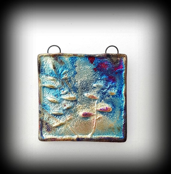 Jewelry, Ceramic Pendant, Necklace, Necklace Pendant, Pendant Necklace, Ceramic Jewelry Raku Pendant, Ceramics, Gift for Women, Gift for Her