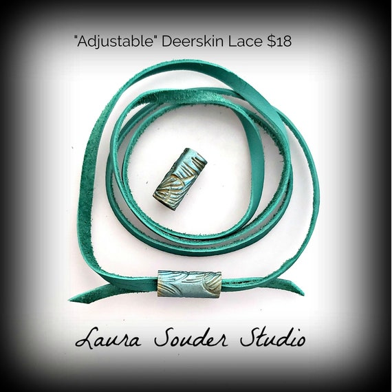 Deerskin Lace & Custom Fit Closures (Adjustable)