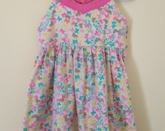 Gently Used Butterfly Dress for 4T