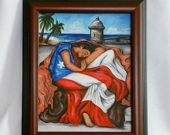 4aeea617e60 Puerto Rican Flag Flaming June