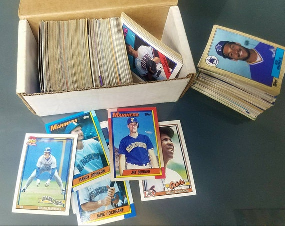 Sell Now Vintage Baseball Card Collection Fleer Topps Score