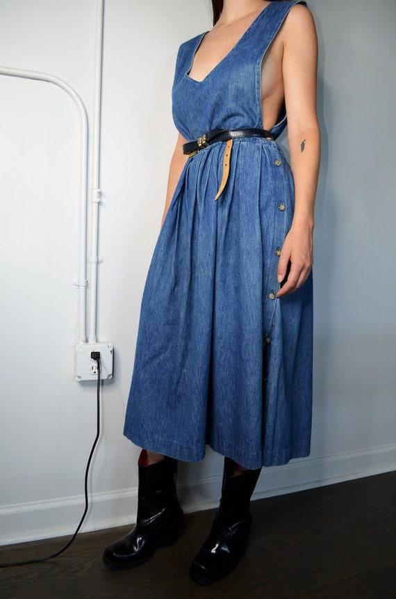 Vintage Oversized Denim Dress