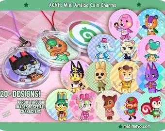 Animal Crossing New Horizons: Fanart NFC Acrylic Mini Charms