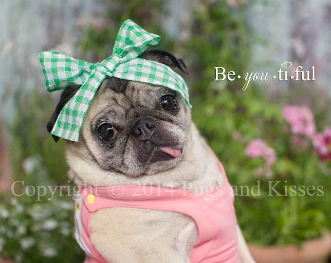 Pug Wall Art - BeYOUtiFUL - Pug Print - Pug Gift by Pugs and Kisses 5x7 8x10 11x14 16x20