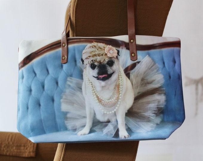 Classic PUG BAG - Tutu Glam - Pugs and Kisses