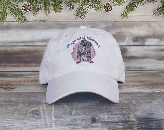 LOGO CAP - Pug Hat - Pugs and Kisses