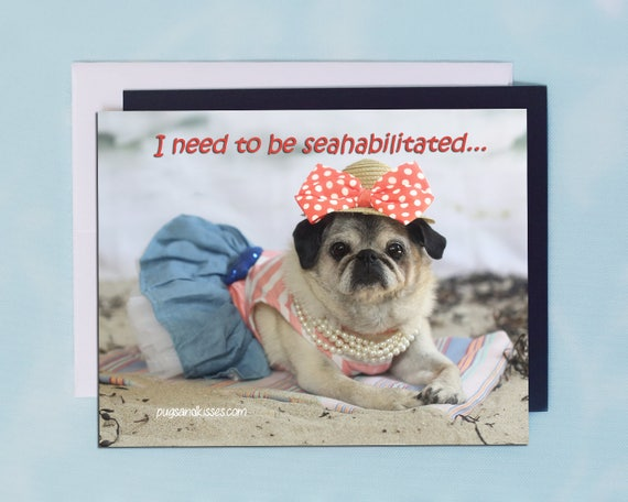 I MY PUG Magnet LOVE  Made in USA Heart