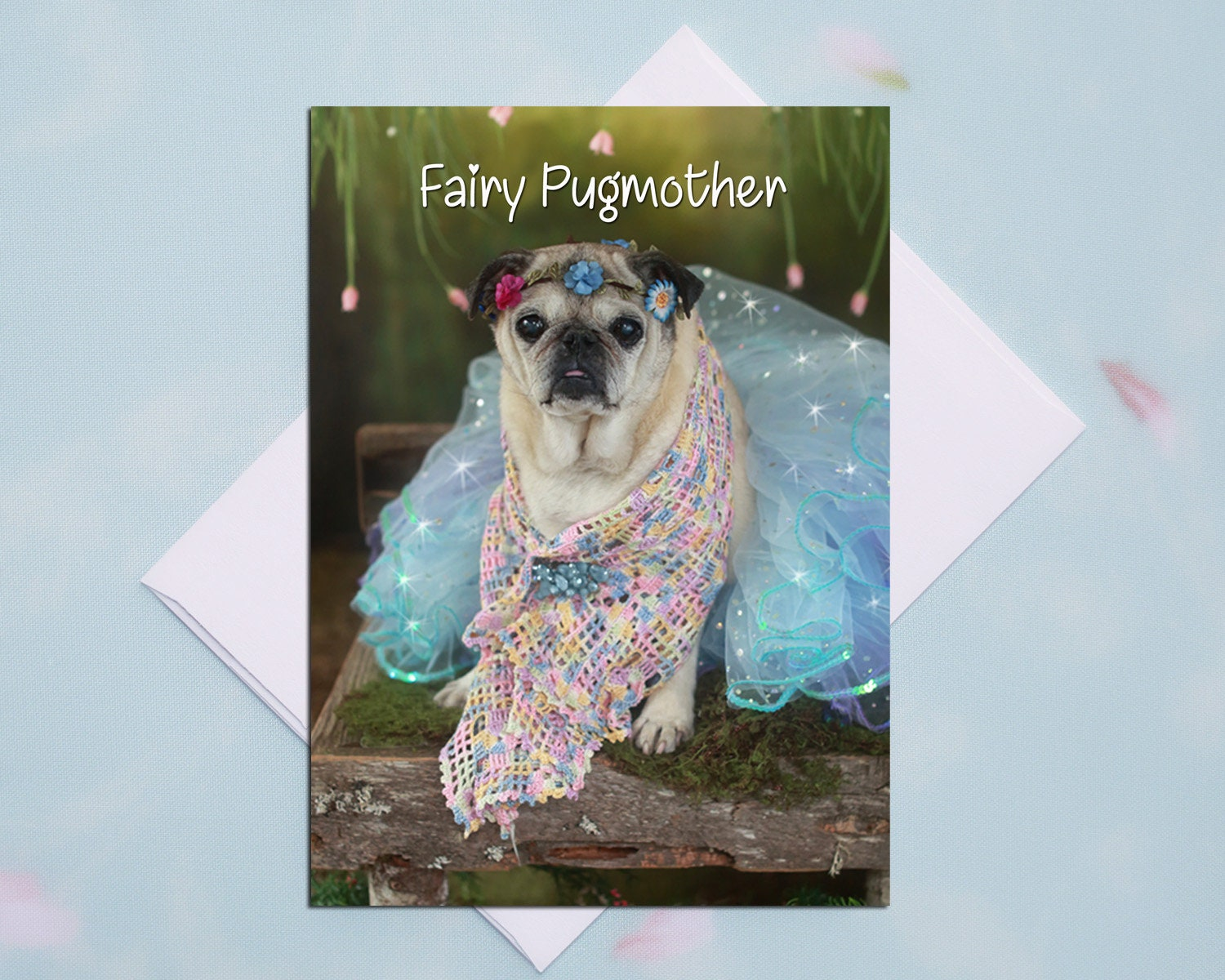 Blank Card Weekend Plans All Occasion Pug Greeting Card Pug