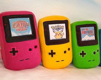 GameBoy Color Plush