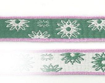 Design twinkle green - star / snowflake