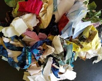 Batik Scrap Bag