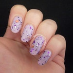 Re-Stock: Mad Cats~ Indie Polish Purple Top Coat Halloween Collection 10/15ML