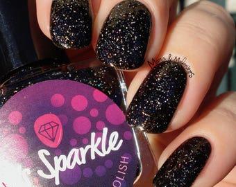 Susuwatari ~ maanlicht vlucht collectie mijn Neighbor Totoro Indie nagellak zwarte Glitter Jelly 10ML aanbieding