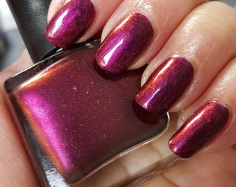 Rose Garden~Single Ladies Indie Nail Polish Multichrome Holo Limited Edition 10ML