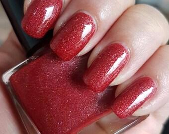 Winter rode bessen ~ Winter ' 17/18/EG collectie 10ML Crelly Micro telde Glitters
